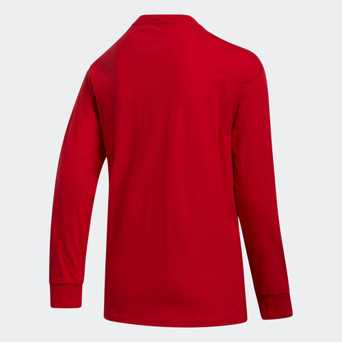 Youth Amplifier Long-Sleeve Tee - Power Red