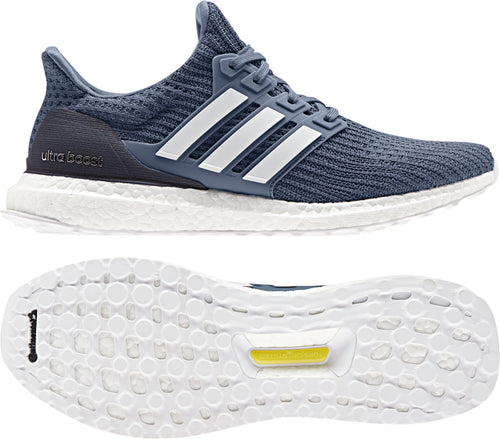 Men's Ultraboost Running Shoe - Tech Ink/Running White/Grey