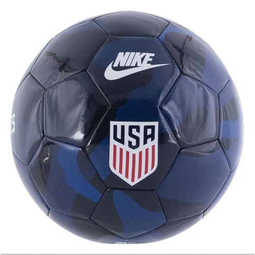 U.S. Supporters Soccer Ball - Dark Obsidian/Loyal Blue/White
