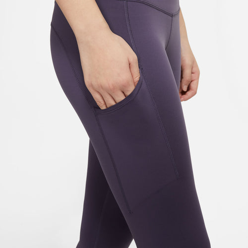 Women's Nike Epic Luxe Tight - Dark Raisin/Reflective Silver