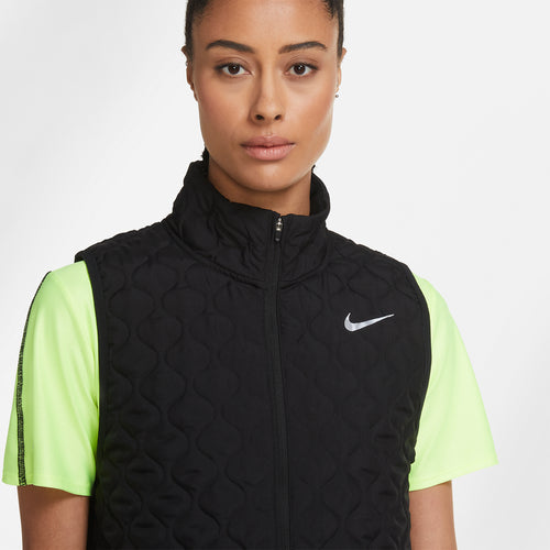 Women's Nike Aerolayer Vest - Black/Reflective Silver