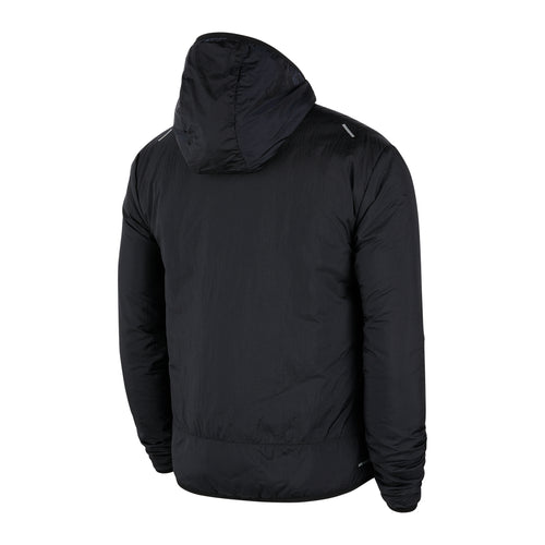 Men's Nike Aerolayer Jacket - Black/Black/Reflective Silver