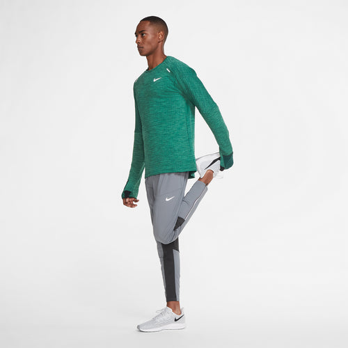 Men's Nike Sphere 3.0 Element Crew - Pro Green/Heather/Reflective Silver