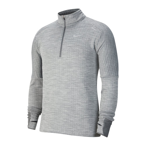 Men's Nike Sphere 3.0 Element Half Zip Top - Iron Grey/Heather/Grey Fog/Reflective Silver