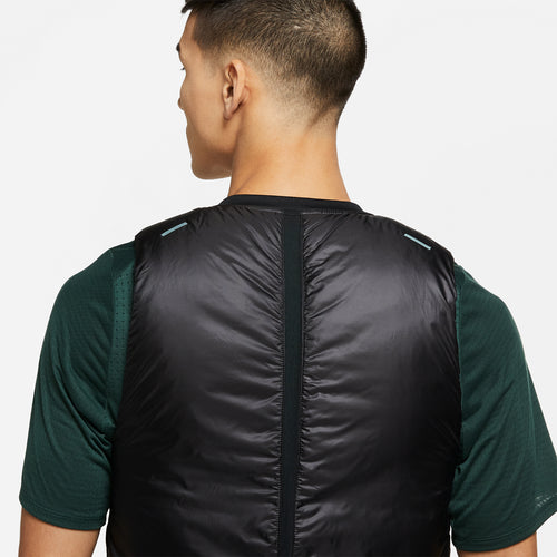 Men's Nike Aeroloft Vest - Black/Reflect Black