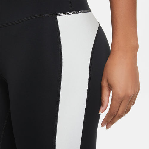 Women's Nike Run Division Epic Luxe Flash Tight  - Black/Reflective Silver/Reflect Black