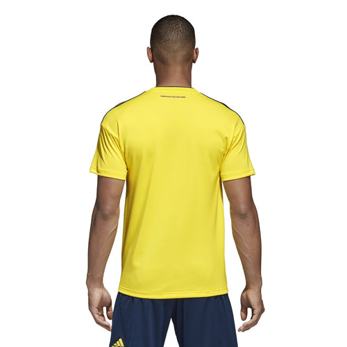 Colombia 2018/19 Home Jersey - Bright Yellow/Collegiate Navy