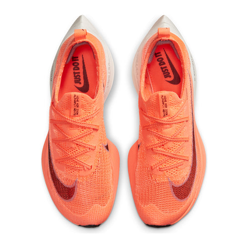 Women's Air Zoom Alphafly Next% Racing Shoe - Bright Mango/Citron Pulse