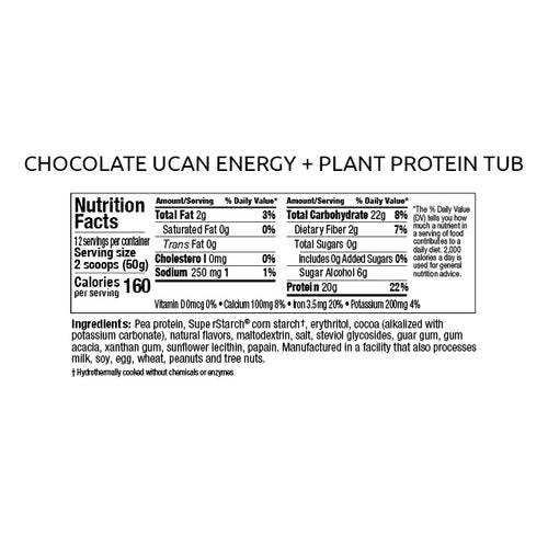 Chocolate Protein Tub