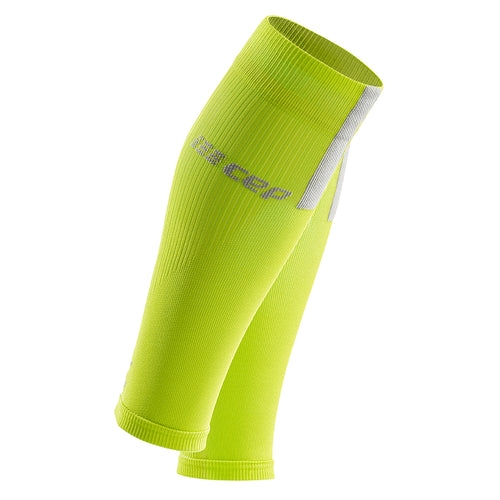 Men's Calf Sleeves 3.0 - Lime/Light Grey
