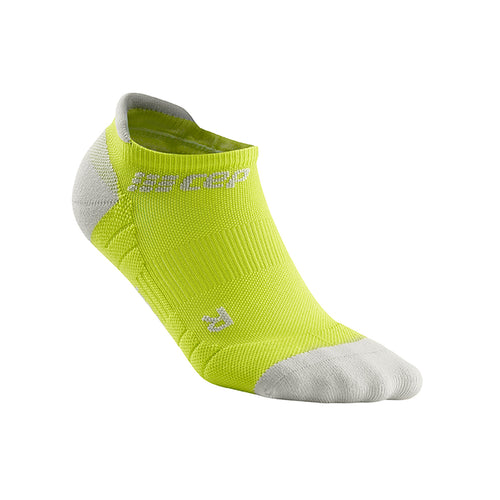 Men's No Show Socks 3.0 - Lime/Light Grey