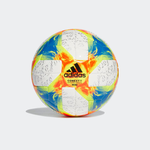 Conext 19 Mini Ball - White / Solar Yellow / Solar Red / Football Blue
