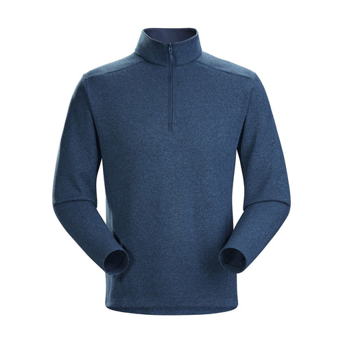 Men's Covert Lightweight 1/2 Zip Top - Cosmic Heather