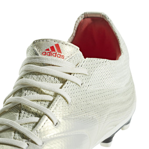 JR Copa 19.1 Firm Ground Cleat - Off White/Solar Red