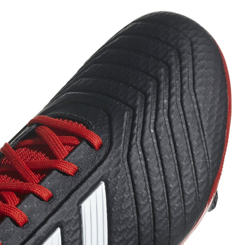 Men's Predator 18.3 Firm Ground Shoes - Core Black/White/Red