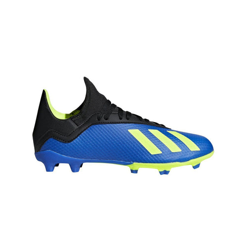 JR X 18.2 Firm Ground Cleat - Football Blue/Solar Yellow/Core Black