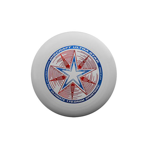 Ultra Star Frisbee - White