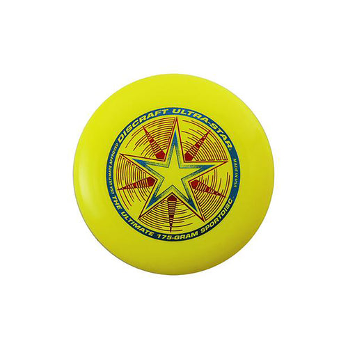 Ultra Star Frisbee - Yellow