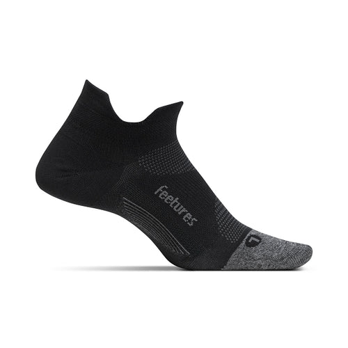 Unisex Elite Ultra Light No Show Tab Sock - Black
