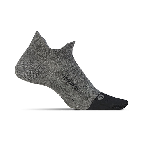 Unisex Elite Ultra Light No Show Tab Sock - Grey