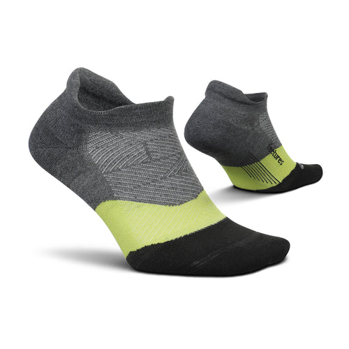 Men's Elite Ultra Light No Show Tab Socks - Night Vision