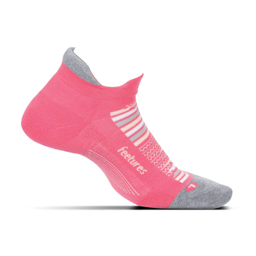 Elite Max Cushion No Show Socks - Hibiscus