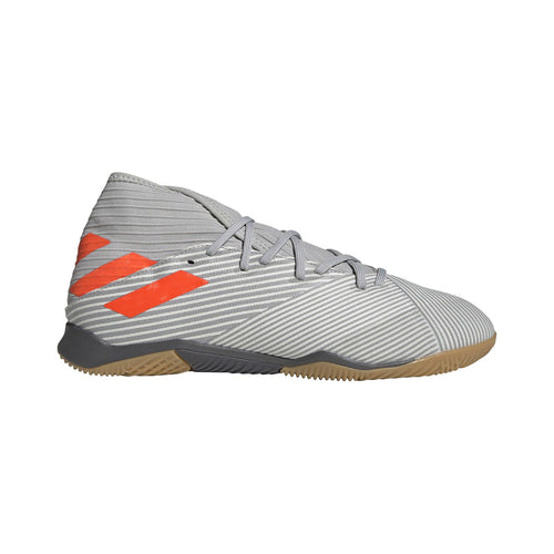 Nemeziz 19.3 Indoor Shoes - Grey Two / Solar Orange / Chalk White