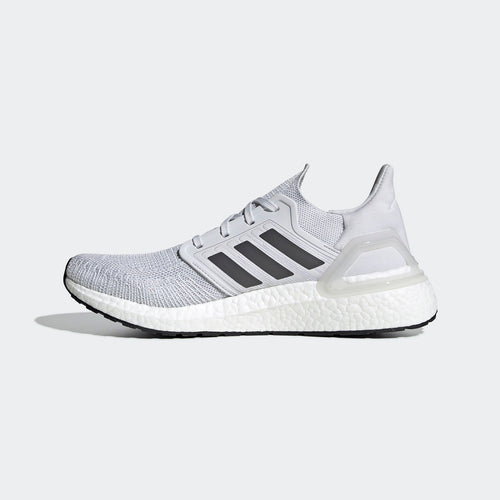 Men's Ultraboost 20 (D - Regular) Running Shoe - Dash Grey/Grey Five/Solar Red