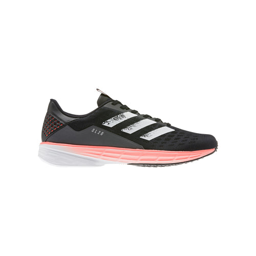 Men's SL20 Running Shoes - Core Black/White/Signal Coral