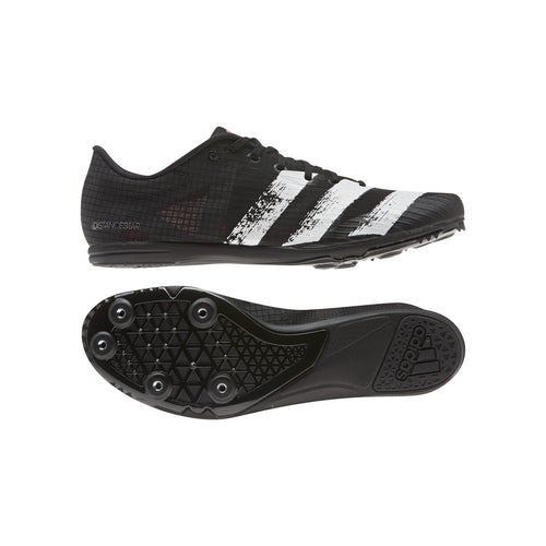 Unisex Distancestar Track Spike - Core Black/White/Signal Coral