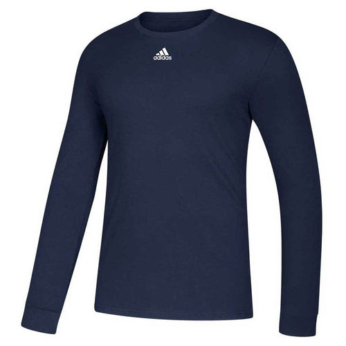 Men's Amplifier Long-Sleeve Logo Tee - Collegiate Navy