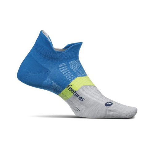 Unisex Elite Light Cushion No Show Socks - Summer Marine