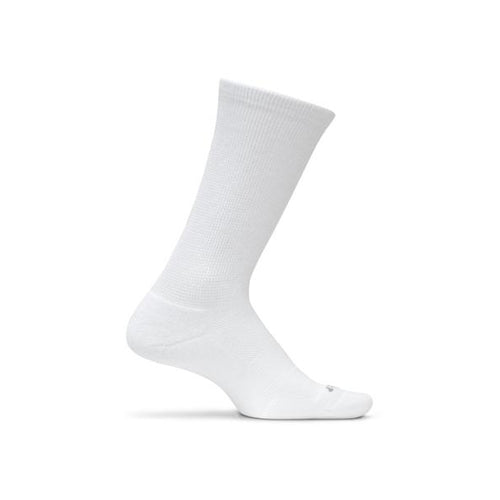 Therapeutic Cushion Crew Sock - White