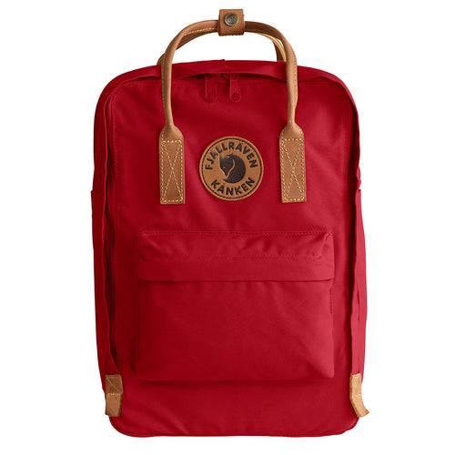 Kanken No 2 Laptop 15in Backpack - Deep Red