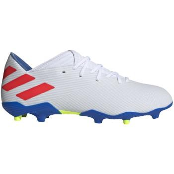 Men's Nemeziz Messi 19.3 Firm Ground Cleats - Cloud White/Solar Red/Football Blue