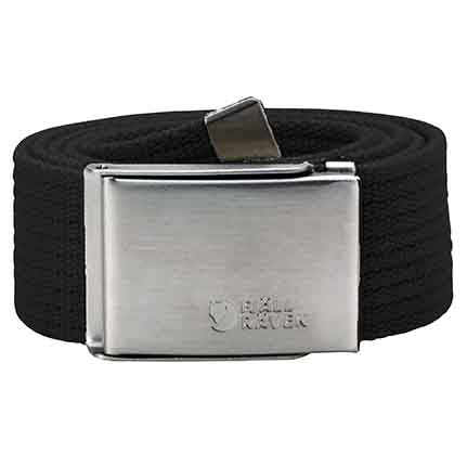 Men's Canvas Belt - Black