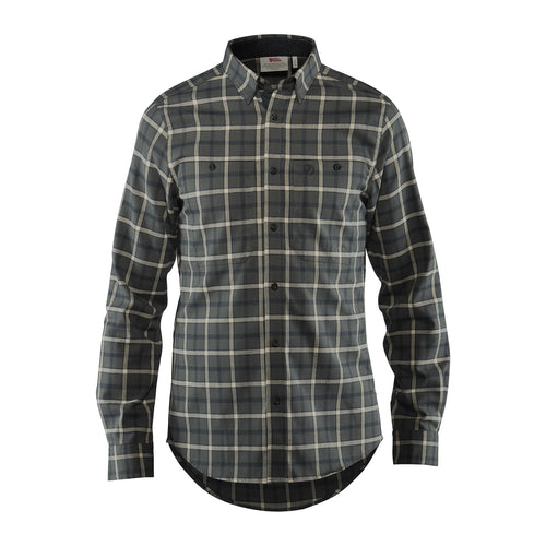 Men's Fjällglim Long Sleeve Shirt - Ash Grey