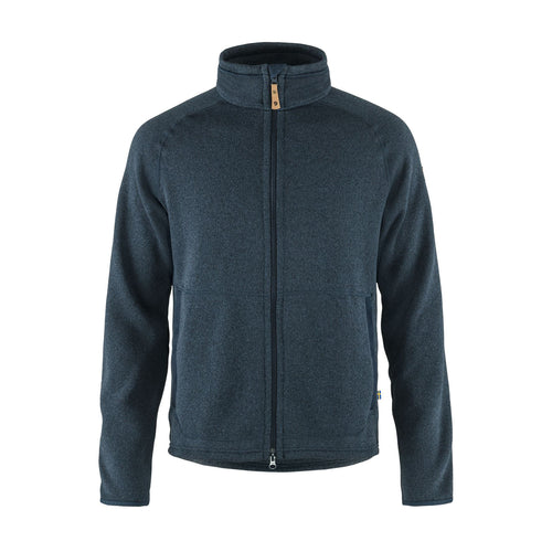 Men's Övik Fleece Zip Sweater - Navy