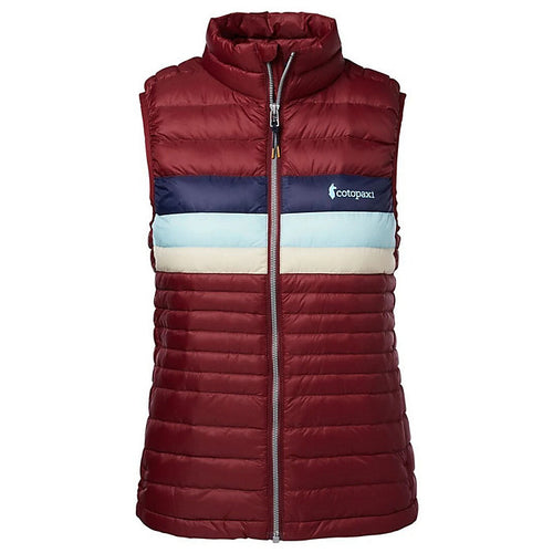 Women's Fuego Down Vest - Port Stripes
