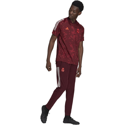 Real Madrid EU 2020/21 Training Jersey - Maroon/Collegiate Burgandy