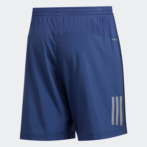 "Men's Own the Run Short 7"" - Tech Indigo/Black"