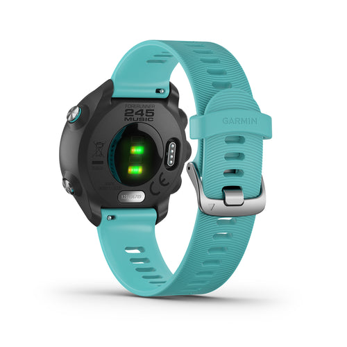 Forerunner® 245 GPS Running Smartwatch with Music - Aqua