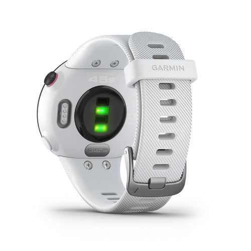 Forerunner® 45S GPS Running Watch - White