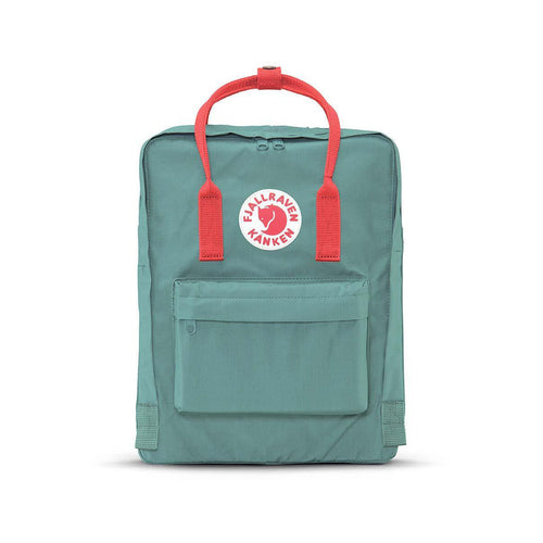 Kanken backpack - FROST GREEN/PEACH PINK