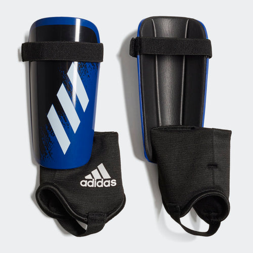 Youth X 20 Match Shinguards - Royal Blue/White/Black