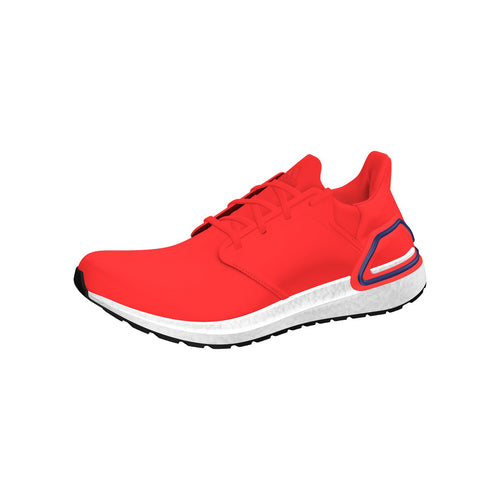 Men's Ultraboost 20 Running Shoe - Solar Red/Boost Blue Violet/White