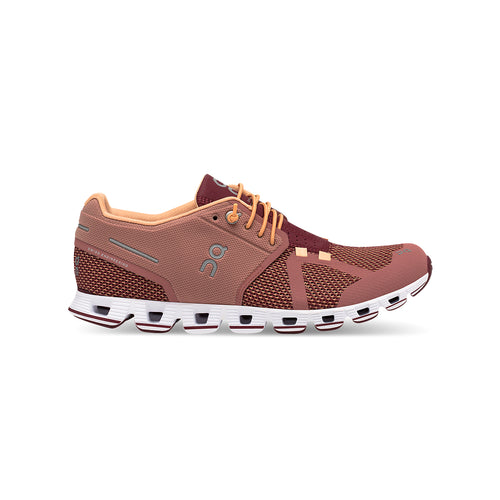 Women's Cloud Running Shoes - Dustrose/Mulberry