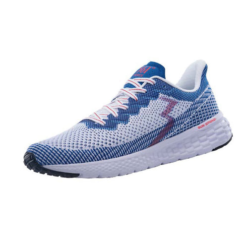 Men's Fierce (D - Regular) Running Shoe -White/Nautical Blue