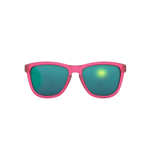 Flamingos on Booze Cruise Sunglasses