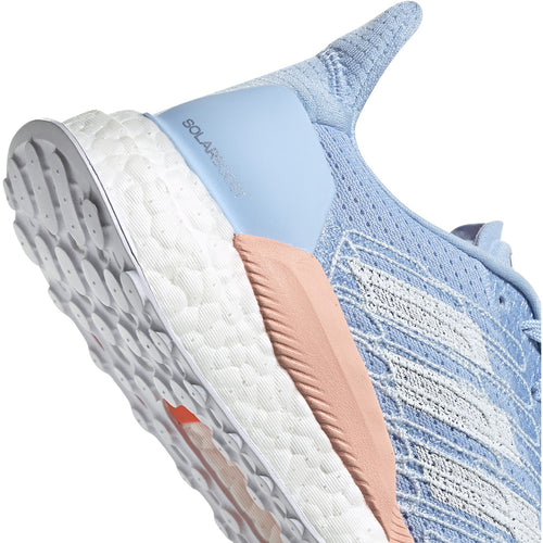 Women's Solar Boost 19 (B - Regular) Running Shoe - Glow Blue/Glow Pink